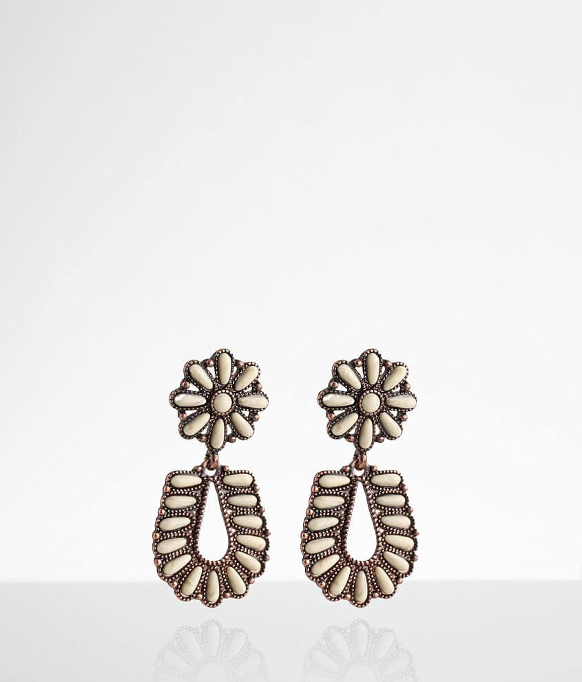 BKE Stone Stud Earring front view