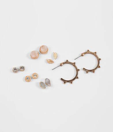 BKE Druzy Earring Set