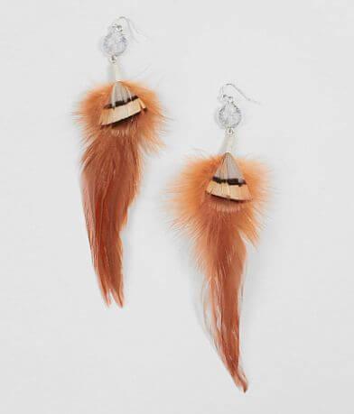 BKE Feather Earring