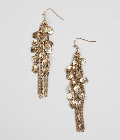 BKE Leaf Drop Earring