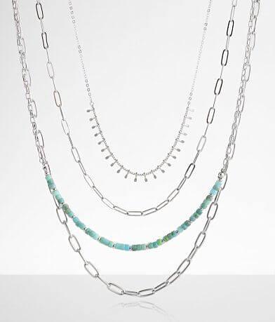 BKE Assorted 4 Pack Necklace Set