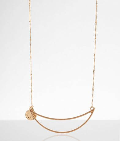 BKE Open Crescent Necklace