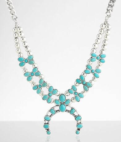 BKE Turquoise Statement Necklace