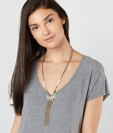 BKE Glitz Statement Necklace