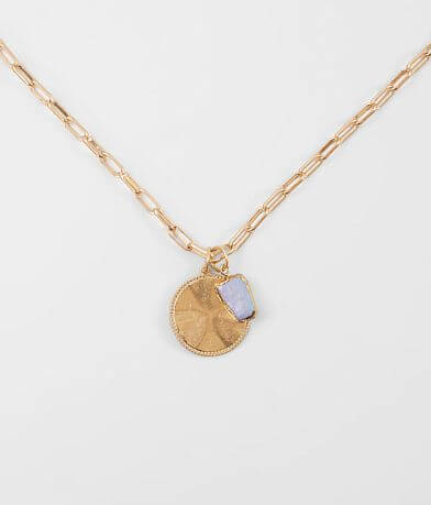 BKE Double Pendant Necklace