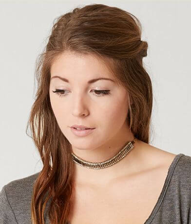 BKE Glitz Choker Necklace