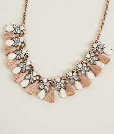 BKE Rhinestone Necklace