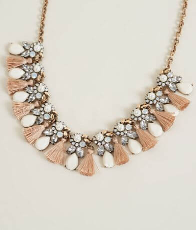 BKE Rhinestone Necklace
