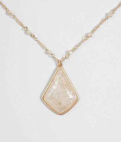 BKE Stone Pendant Necklace