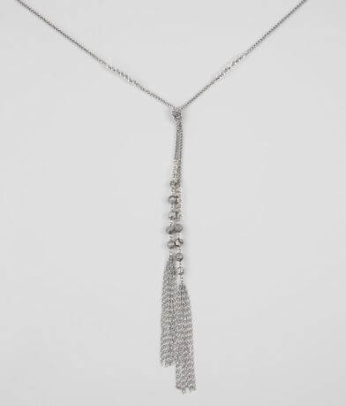 BKE Beaded Tassel Necklace