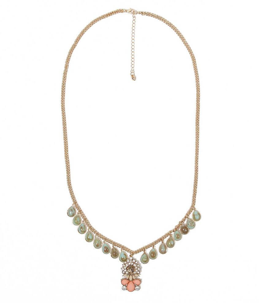 Daytrip Teardrop Necklace front view