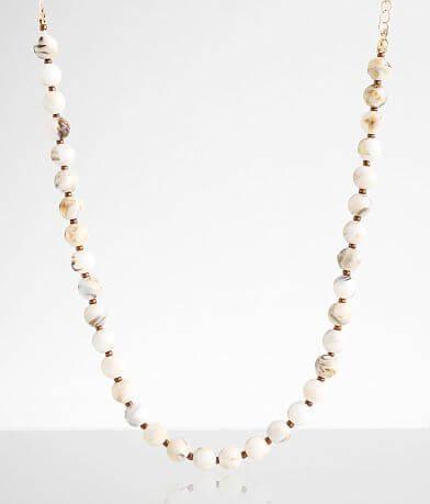 BKE Howlite Choker Necklace
