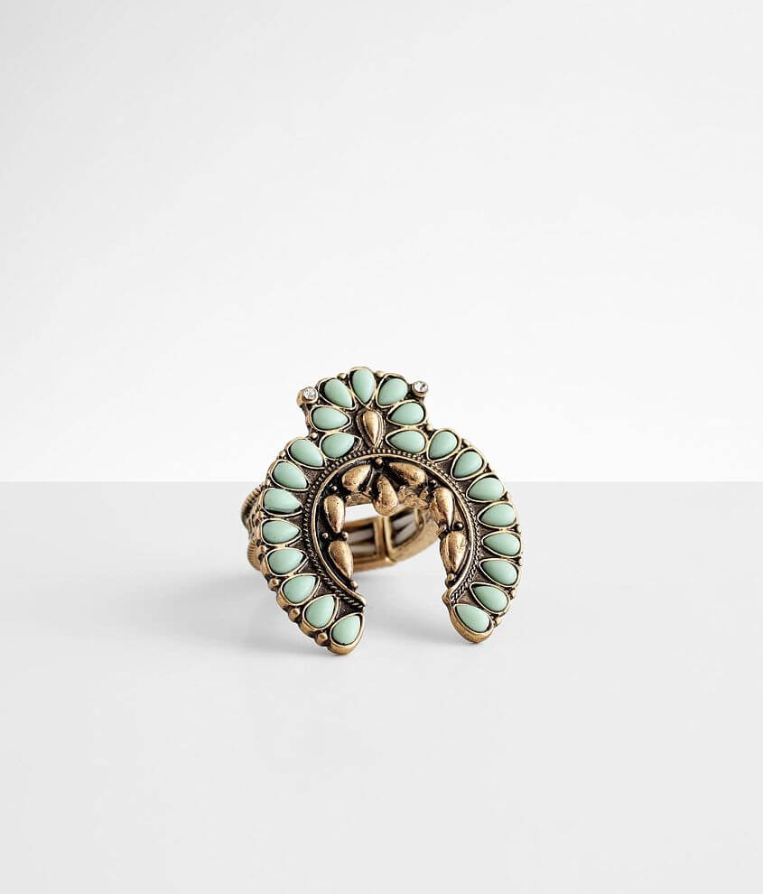 BKE Squash Blossom Ring front view