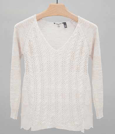 BKE Boutique Pieced Sweater