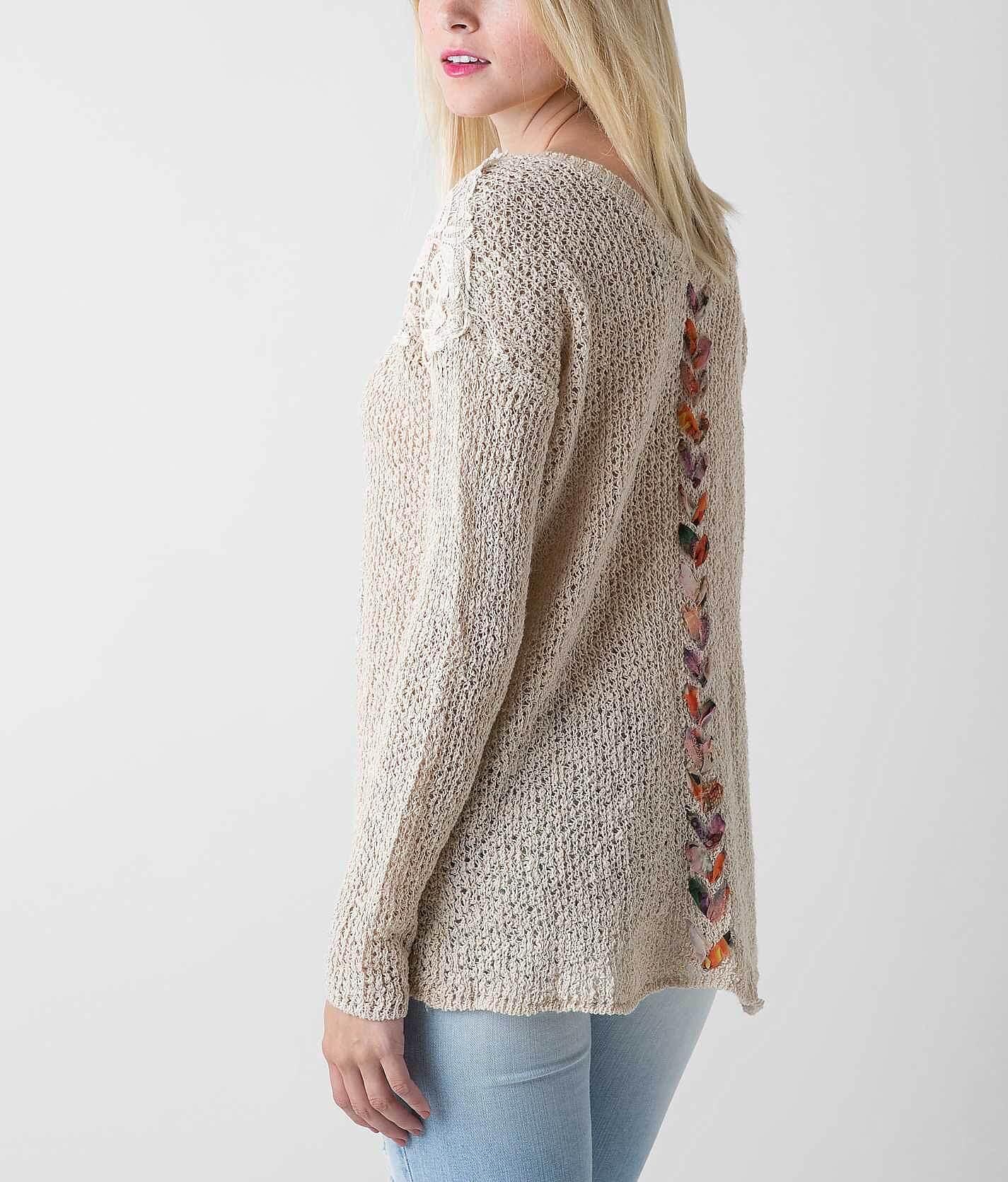 Open Weave Sweaters for Women