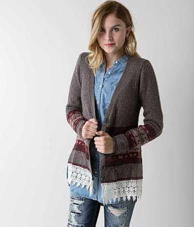 Gimmicks Lurex Cardigan Sweater