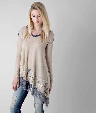 Gimmicks Fringe Sweater