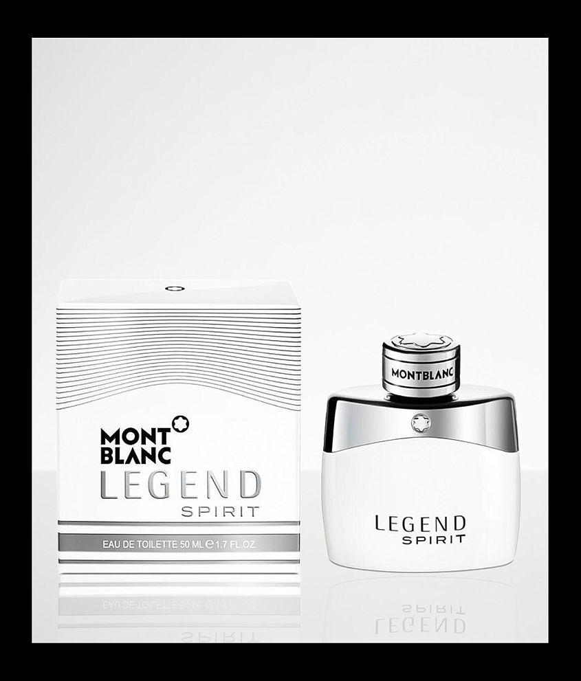 Mont Blanc Legend Spirit Cologne front view