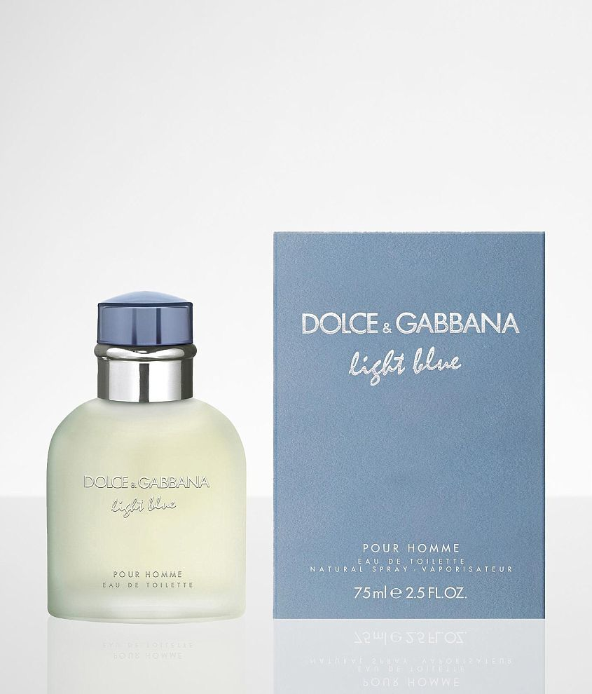 Dolce & Gabbana Light Blue Cologne front view