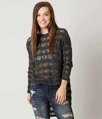 Love + Harmony Open Weave Sweater