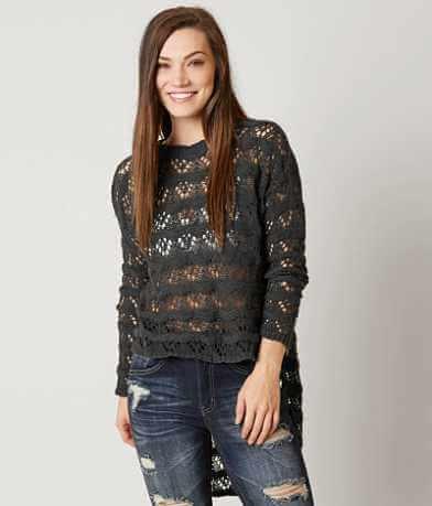 Love + Harmony Open Weave Sweater
