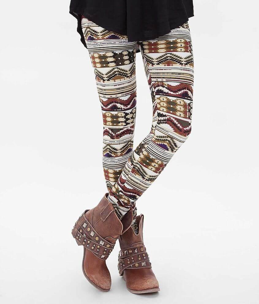 ShoSho Fashion Southwestern Legging front view