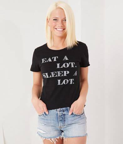 FITZ + EDDI Eat A Lot Sleep A Lot T-Shirt