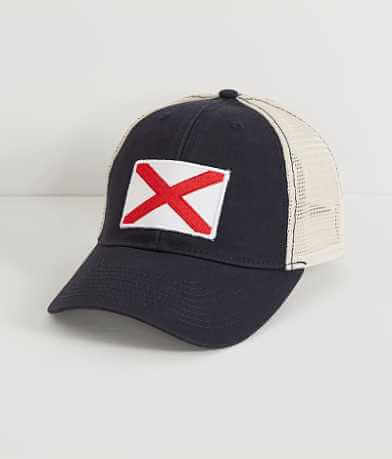 Civil Standard Alabama Flag Trucker Hat