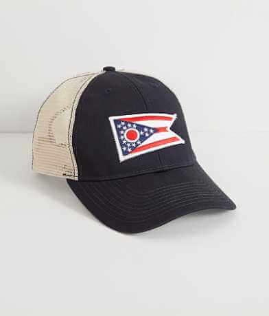 Civil Standard Ohio Flag Trucker Hat
