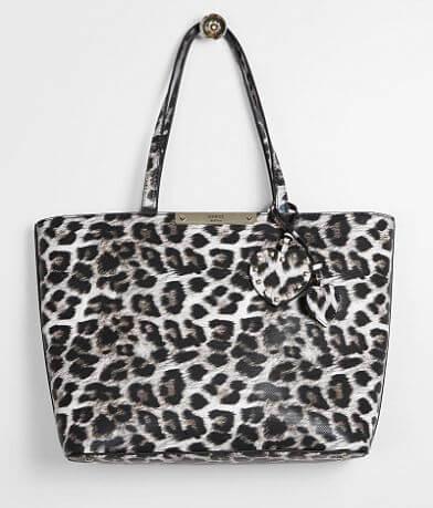 Guess Britta Leopard Tote Purse