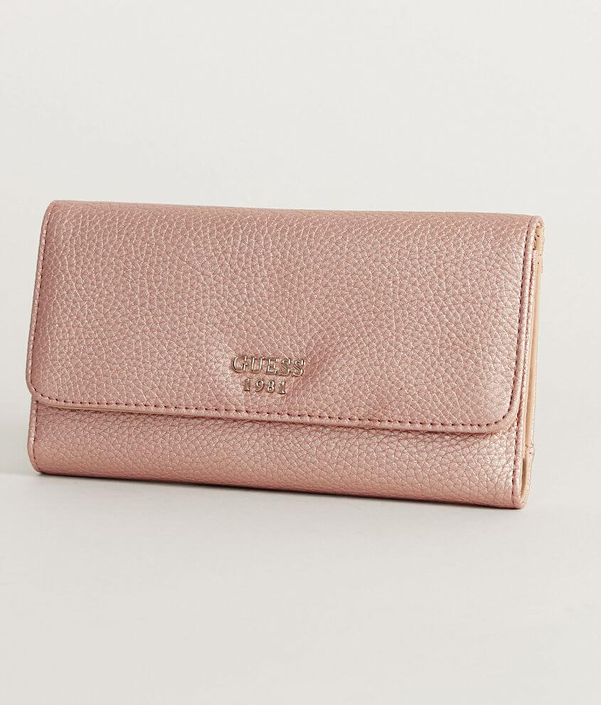 233a65e0e76f Guess Cate Wallet - Women s Accessories in Rose Gold