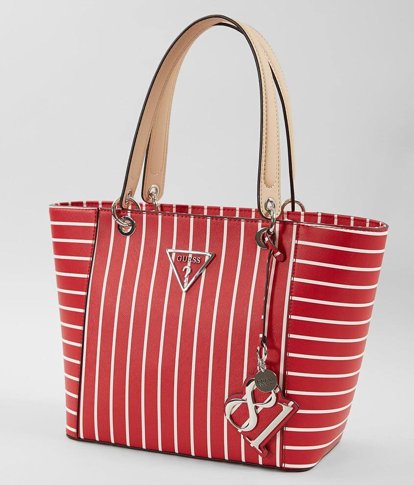 2b676ed1d50daa Guess Kamryn Tote Purse - Women s Bags in Red Stripe