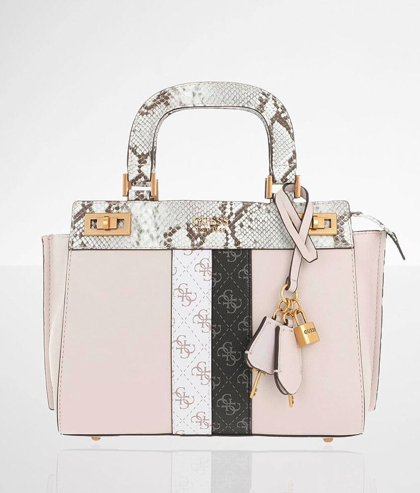 Guess Katey Luxury Satchel Purse front view
