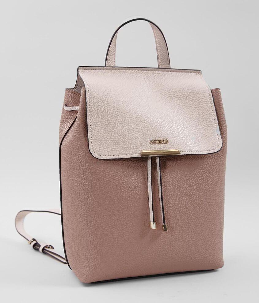0b7824bf37 Guess Varsity Pop Backpack - Women s Bags in Latte Stone