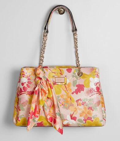 Guess Shannon Girlfriend Floral Purse