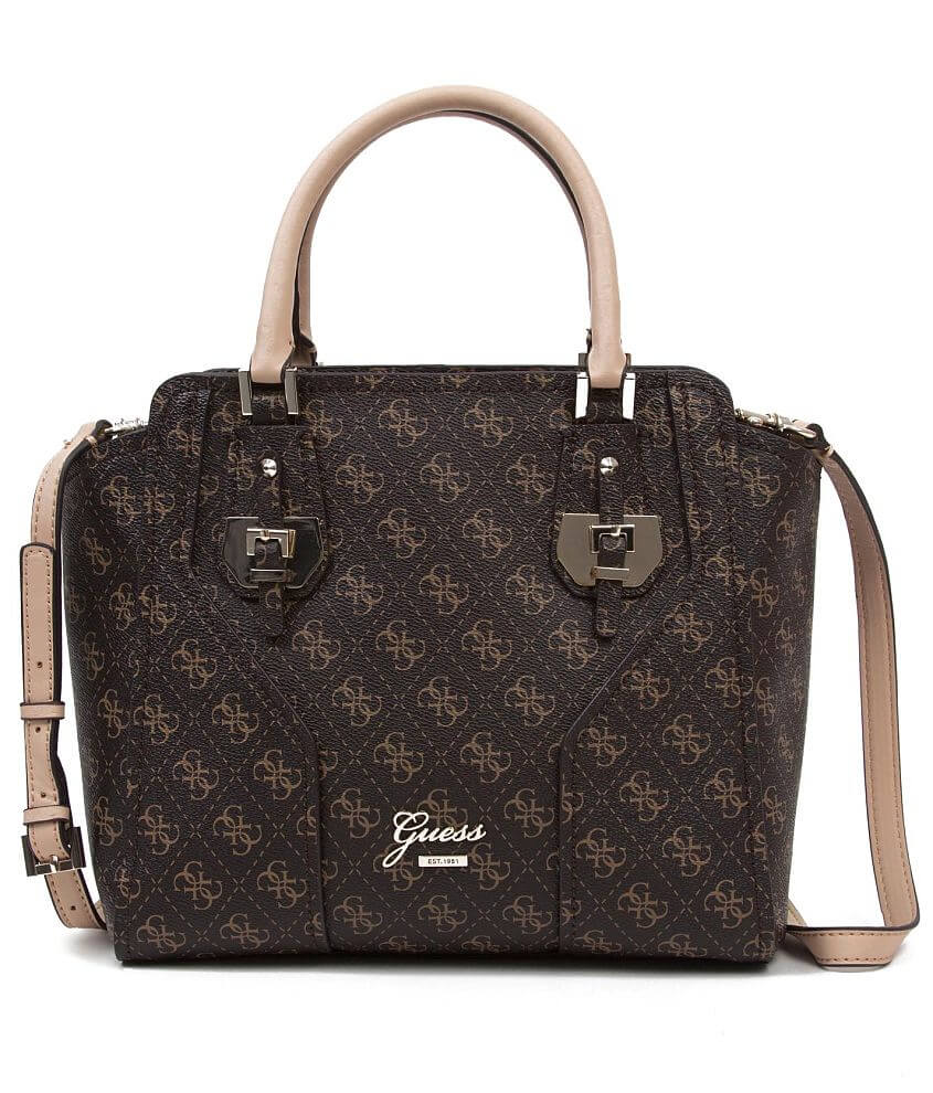 Guess Confidential Logo Purse front view