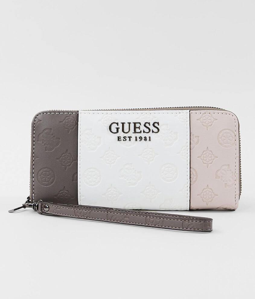Guess Ilenia Wristlet Wallet Women's Bags in Stone Multi