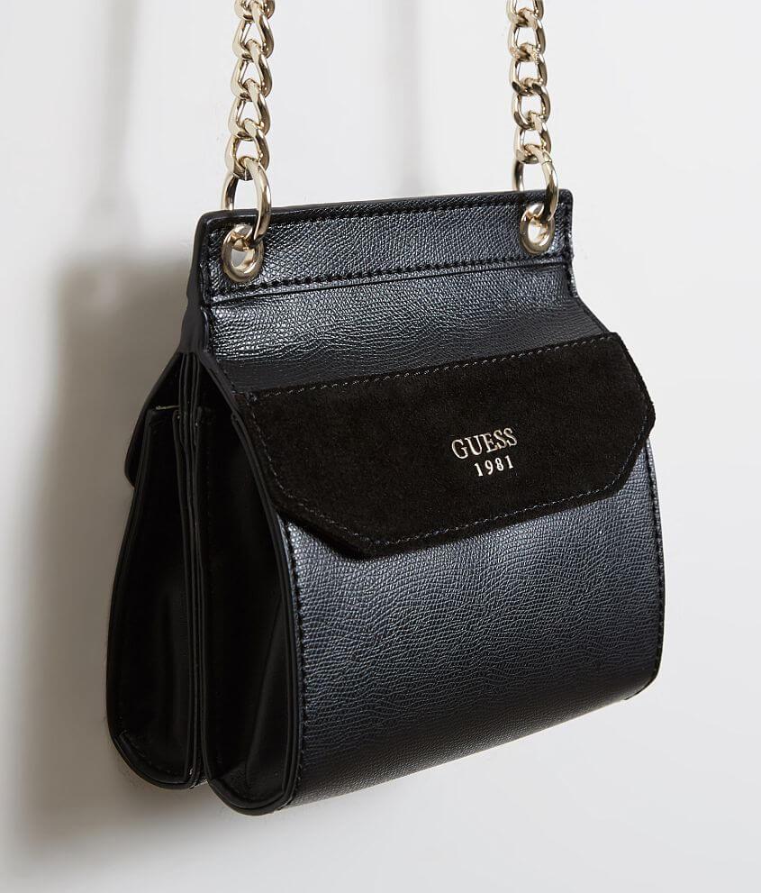b7d5065840 Guess Tepper Mini Purse Women S Accessories In Black Buckle