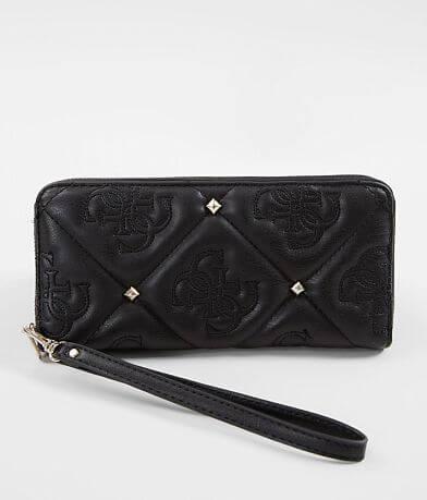 Guess Jeana Studded Wristlet Wallet
