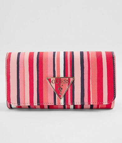Guess Carys Striped Wallet
