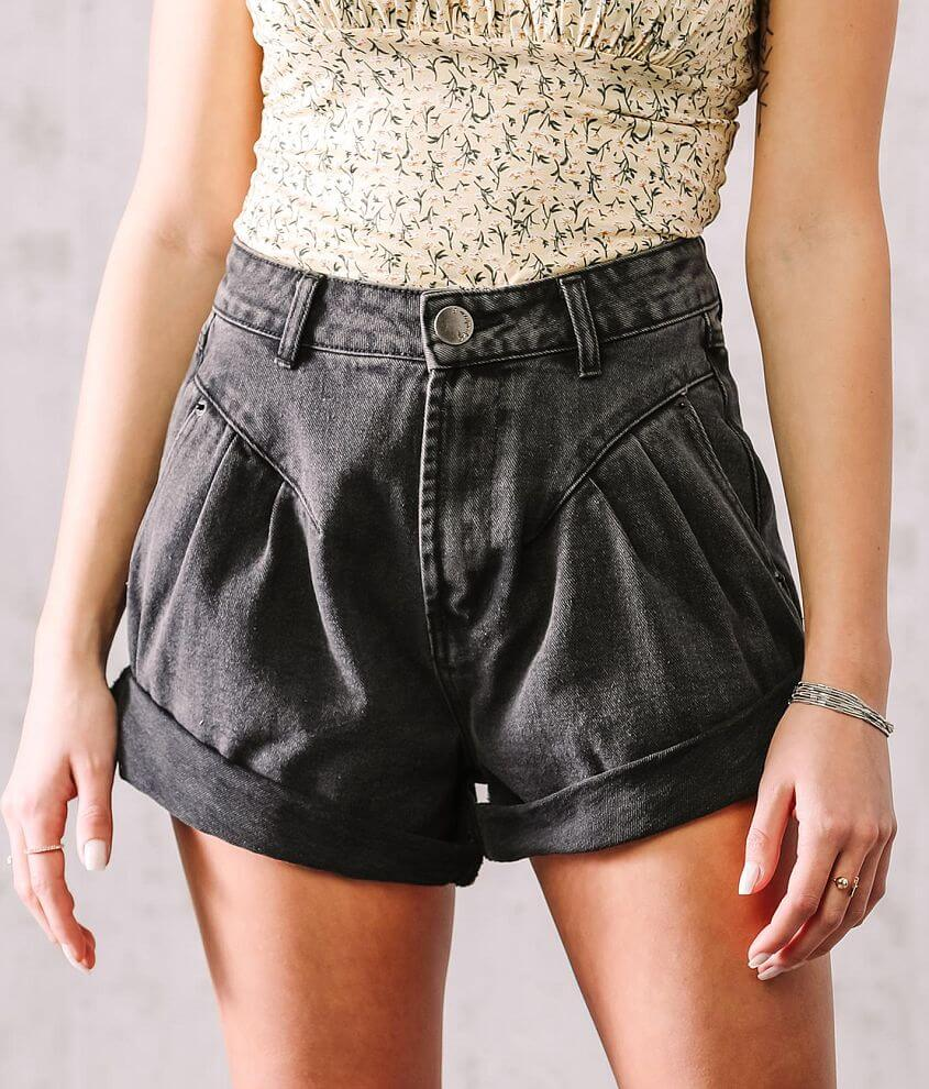 Signature 8 Ultra High Rise Cuffed Short front view