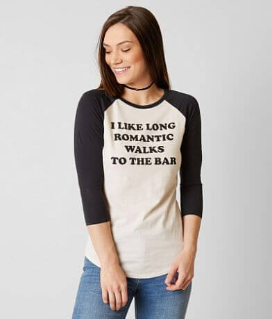 Project Karma Romantic Walks To The Bar T-Shirt