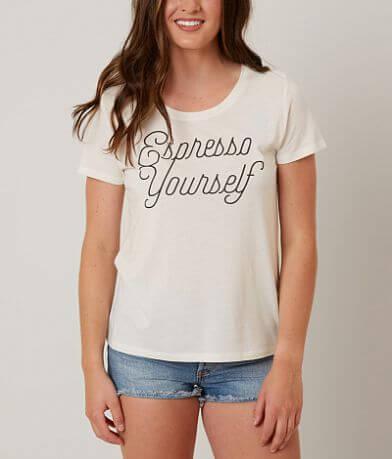 Recycled Karma Espresso Yourself T-Shirt