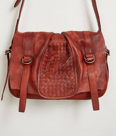 Diophy Woven Leather Purse