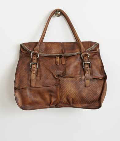Diophy Pieced Leather Purse