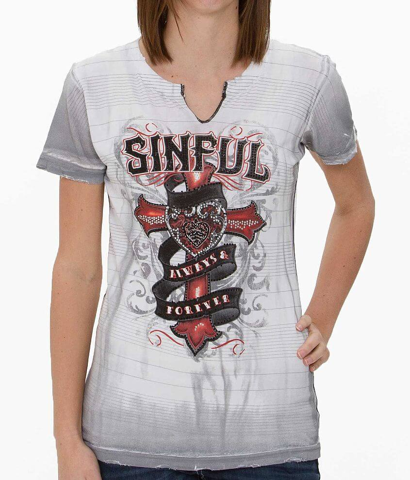 Sinful Eloise T-Shirt front view