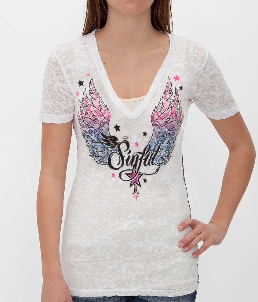 Sinful Fireblitz T-Shirt front view