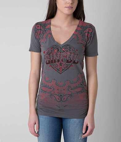 Sinful Daisy Paisley T-Shirt