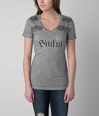 Sinful Angel Wings T-Shirt