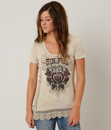 Sinful Chapel Roses Top